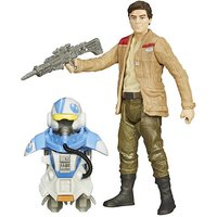 Star Wars The Force Awakens Armour Up 9cm Poe Dameron Figure - Star Wars Gifts