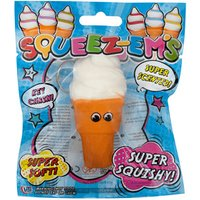 Squeez-em's Small Ice Cream Squishy Keyring - Ice Cream Gifts