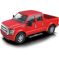 1:24 Scale Ford F350 Friction Car - Red