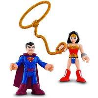 Fisher-Price Imaginext DC Super Friends - Superman & Wonder Woman