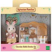 Sylvanian Families Chocolate Rabbit Brother Set - Brother Gifts