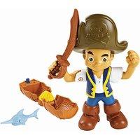 Disney Jake and the Never Land Pirates Buccaneer Battling Action Figure - Jake