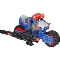 Marvel Ultimate Spider-Man vs. The Sinister Six Blast N' Go Racers - Spider Cycle - Spider Gifts
