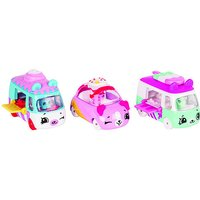 Shopkins Cutie Cars 3 Pack - Freezy Riders