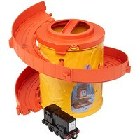 Thomas and Friends Take-n-Play Portable Railway Spiral Tower Tracks with Diesel - Thomas And Friends Gifts