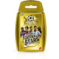 Top Trumps  - World Football Stars Gold Case Card Game - Football Gifts