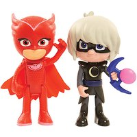 PJ Masks Light Up Figures Owlette and Luna Girl