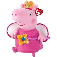 Ty Peppa Pig Buddy - Princess Peppa Soft Toy - Peppa Pig Gifts