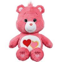 Care Bear Medium Plush With DVD - Love A Lot Bear - Dvd Gifts