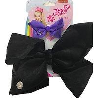 JoJo bow 2 pack with standard size velvet bow Black