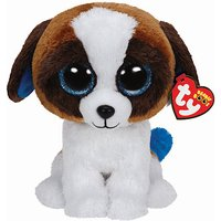 Ty Beanie Boo Buddy - Duke the Dog Soft Toy - Beanie Gifts