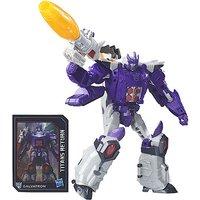 Transformers Generations Titans Return Voyager Class Figure - Nucleon & Galvatron