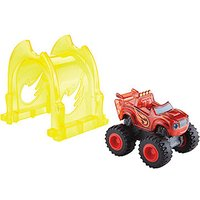Blaze & the Monster Machines Speed Lights Light Rider - Blaze