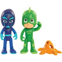 PJ Masks Light Up Figures Gekko and Night Ninja