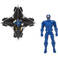 Power Rangers Mega Morph Copter With Blue Ranger - Morph Gifts