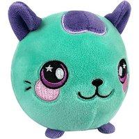 Squeezamals Plush - Teal Cat - Animagic Gifts