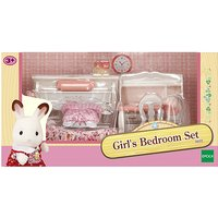 Sylvanian Families Girl's Bedroom Set - Bedroom Gifts