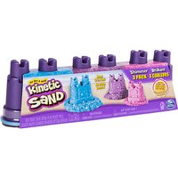 Kinetic Sand ? Shimmering Sand Multi-Pack with Molds - Sand Gifts