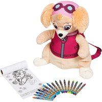 Paw Patrol Skye Backpack with Colouring Accessories