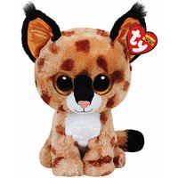 Ty Beanie Boo Buddy - Buckwheat the Lynx Soft Toy