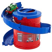 Thomas and Friends Take-n-Play Portable Railway Spiral Tower Tracks with Percy - Thomas And Friends Gifts