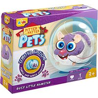 Pitter Patter Pets Busy Little Hamster - Purple