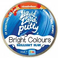 Nickelodeon Liquid Lava Putty Bright Colours Brilliant Blue