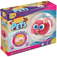 Pitter Patter Pets Busy Little Hamster Neon Edition Pink