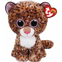 Ty Beanie Boo Buddy - Patches the Leopard Soft Toy