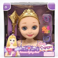 You are a Princess 16cm Styling Head - Sky