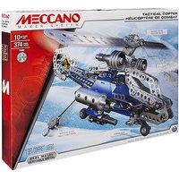 Meccano Tactical Copter Model Maker Set - Meccano Gifts