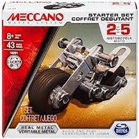 Meccano Starter Set - Motorcycle Moto - Meccano Gifts