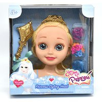 You are a Princess 16cm Styling Head - Snow Flake