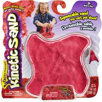 Kinetic Sand Red Neon Sand 396g