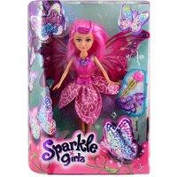 Sparkle Girlz Butterfly Fairy Doll - Pink