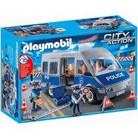 Playmobil 9236 City Action Policemen with Van with Flashing Lights & Sound - Lights Gifts