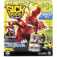Sick Bricks Monsters Pack - Daredevil Drake and Debbie Stormbelly - Drake Gifts
