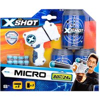 X-Shot Micro (3 Cans & 8 Darts) - Darts Gifts