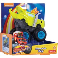 Fisher-Price Blaze and the Monster Machines Slam & Go Zeg - Fisher Price Gifts