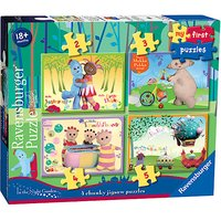 Ravensburger 4 in a Box Chunky Jigsaw Puzzles - In The Night Garden - Garden Gifts
