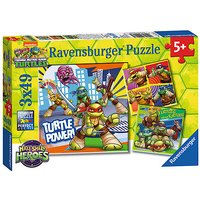 Ravensburger Teenage Mutant Ninja Turtles Half-Shell Heroes 3x49 Piece Puzzles