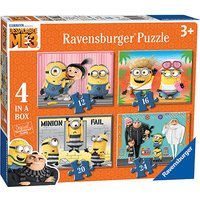 Ravensburger 4 in a box (12, 16, 20, 24pc) Jigsaw - Despicable Me 3
