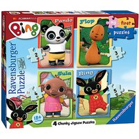 Ravensburger 4 in a Box Chunky Puzzles - Bing