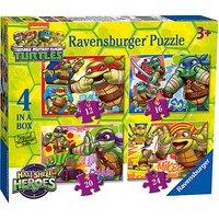 Ravensburger 4 in a Box Puzzles - Teenage Mutant Ninja Turtles Half-Shell Heroes - Puzzles Gifts