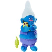 DreamWorks Trolls Talking Troll Soft Toy - Biggie - Trolls Gifts