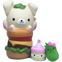 Smooshy Mushy Bento Box- American Burger Puppy - Puppy Gifts
