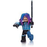 Roblox Blue Lazer Parkour Runner Action Figure
