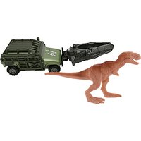 Matchbox Jurassic World Dino Transporter Vehicle and Figure - Tyranno-Hauler