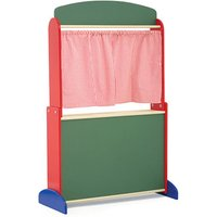 Wooden Puppet Theatre (Puppet not included) (100 x 64 x 30cm) - Musical Gifts