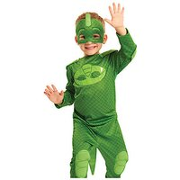 PJ Masks Gekko Hero Dress Up Costume (4-6 Years)